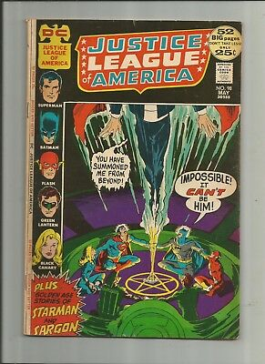 Justice League Of America #98 4.0-5.0 Free Comb Shipping