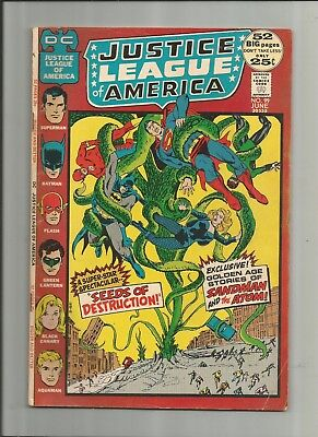 Justice League Of America #99 4.0-5.0 Free Comb Shipping