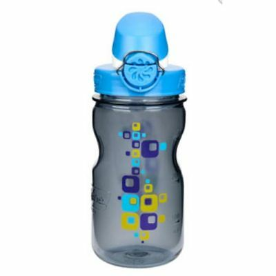 Nalgene Trinkflasche Everyday OTF Kids 0,375 Liter grau quader