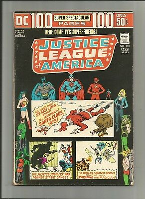 Justice League Of America #110 Dc 100 Page Super Spectacular 5.0-6.0 Frecomb Shn