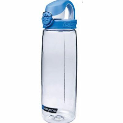 Nalgene Trinkflasche Everyday OTF 0,7 Liter transparent Deckel blau 78902