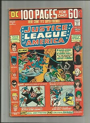 Justice League Of America #111 Dc 100 Page 5.5-6.5 Free Comb Shipping