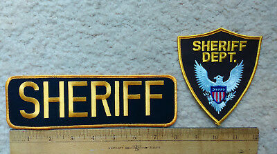 Generic Deputy Sheriff patches from TV or movies > uniform insignia > Halloween!