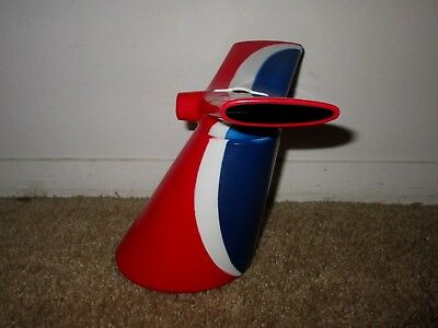 Carnival Cruise Lines Funnel Smoke Stack Tail Fin Plastic Cup Coin Bank