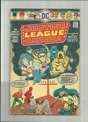 Justice League Of America #124 2.5-3.5 Copy 1 Of 2 Free Comb Shipping