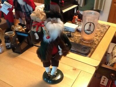 Byers Choice Caroler....man With Pipe And Gifts 1996