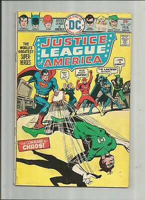 Justice League Of America #127 2.5-3.5 Free Comb Shipping