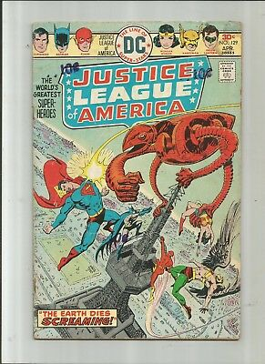 Justice League Of America #129 2.5-3.5 Free Comb Shipping