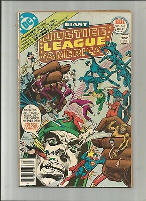 Justice League Of America #144 3.5-4.5 Free Comb Shipping