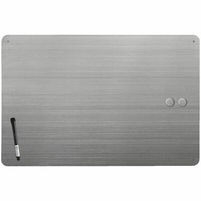 Three By Three Dry Erase Stainless Board