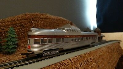 HO Scale Canadian Pacific  Dome Observation Passenger Car   Lot