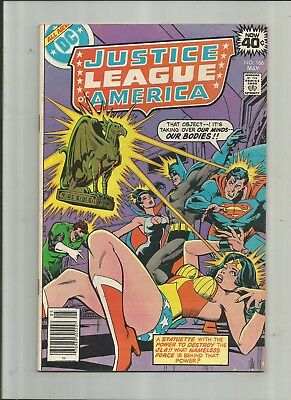 Justice League Of America #166 4.5-5.5 Free Comb Shipping