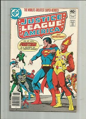 Justice League Of America #179 6.0-7.0 Free Comb Shipping