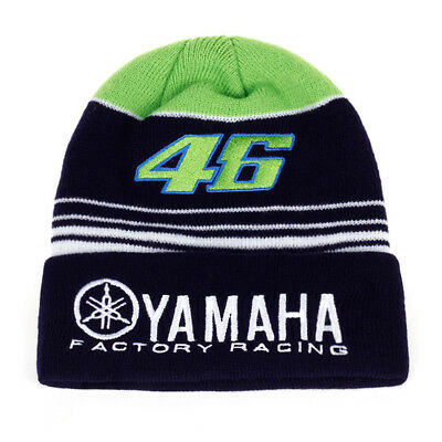 2017 MOTO GP VR 46 Rossi Embroidery Sport Winter Yamaha Hat Cotton Beanie Hat