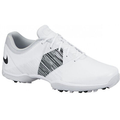 Blemished Womens Nike Delight V Lady Golf Shoes 651997 White / Black Size 7.5 M