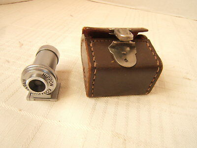 Nippon Kogaku Viewfinder In Leather Case 13.5