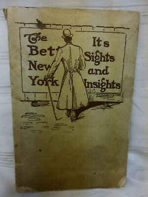 Rare Vintage 1904 New York City Guide Book The Better New York w/ Subway Map