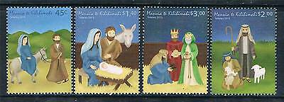 Tokelau 2013 Christmas 4v set MNH