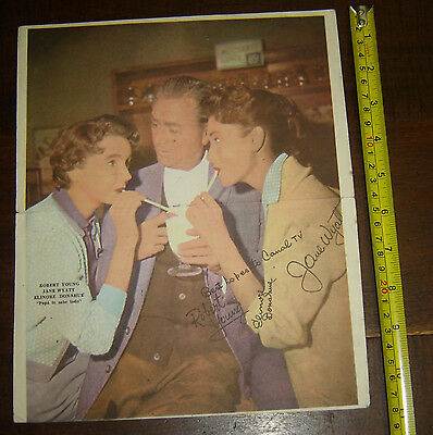 Father Knows Best ROBERT YOUNG ARGENTINA Canal TV  insert  Poster vintage 1960