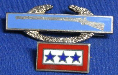 WWII Sterling 3 Sons In Service & Combat Infantry Badge Home Front Pins Lot Of 2