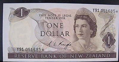 1975 New Zealand, Reserve Bank of,One Dollar, Nice CU  ** FREE U.S SHIPPING **