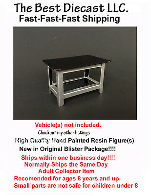 Metal Work Bench American Diorama Work Bench Only 1:18 AD-77519