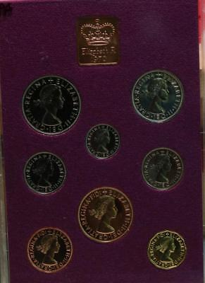 Uncirculated 1970 Great Britain Proof Set Free S/H
