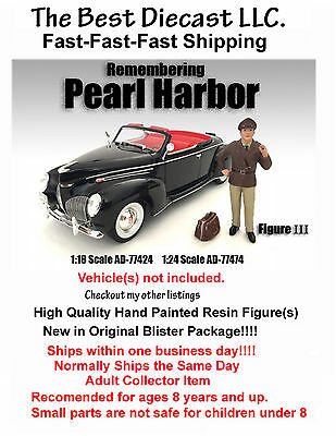 Remembering Pearl Harbor American Diorama Resin Figure III 1:18