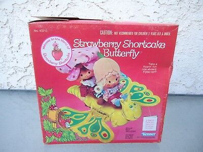 Vintage Kenner Strawberry Shortcake Butterfly with box 1982