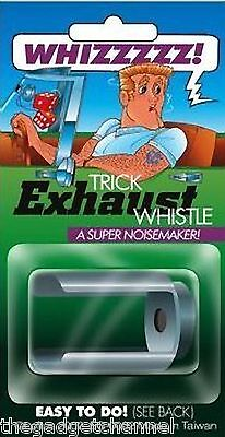 Car Exhaust Pipe Whistle Funny Joke Trick Mens Boys Toy Prank Novelty Gift