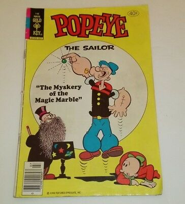 148 Popeye, Gold Key comics