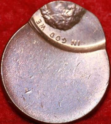 Uncirculated No Date Philadelphia Mint Lincoln Cent Off Center Error Free S/H