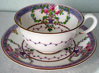 Royal Worcester Antique Art Deco Scarce Hand Painted 645537 Bone China Cup