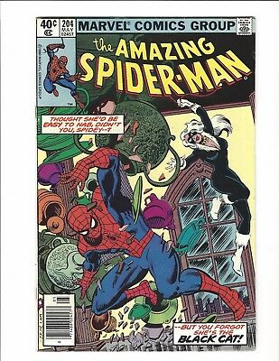 The Amazing Spider-Man #204 (May 1980, Marvel)