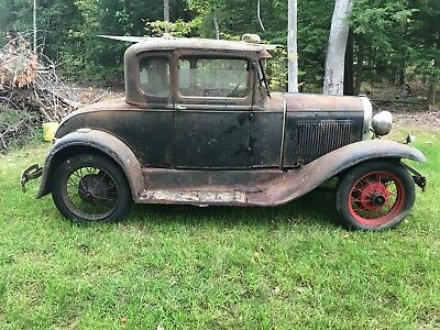 1930 Ford Model A Coupe 1930 Ford Model A Coupe, BARN FRESH