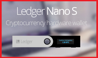 IN STOCK! Ledger Nano S Cryptocurrency Hardware Wallet for BTC Ethereum Altcoins