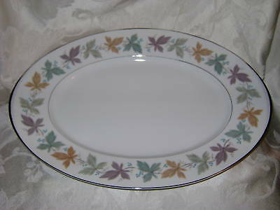 Vintage Sango Argent Large Oval Serving Platter Meat Plate Replacement China