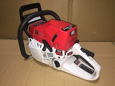 """82cc Commercial Petrol Chainsaw E-Start 24"""" Bar Tree pruning 5.5 HP"""