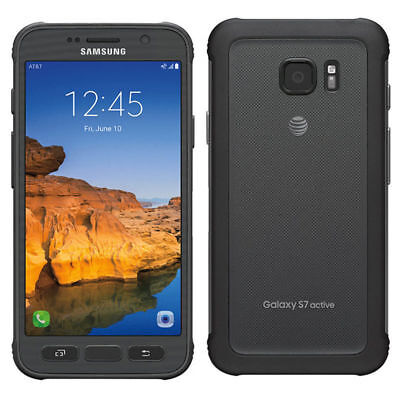 Samsung Galaxy S7 Active SM-G891A 32GB (AT&T) GSM Unlocked 4G LTE FROM USA 9/10