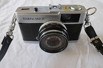 Vintage Olympus Trip 35 35mm Film Camera - Great Working Condition