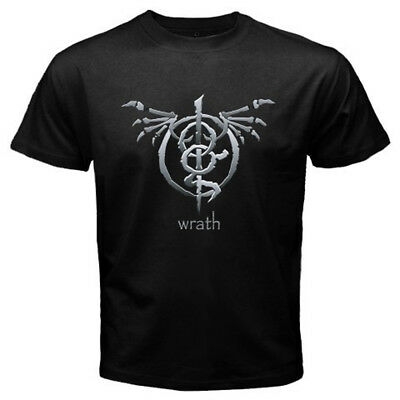 New Lamb of God Wrath Album American Metal Band Men's Black T-Shirt Size S-3XL
