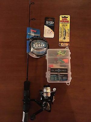 Rapala Ice Breaker combo with lures