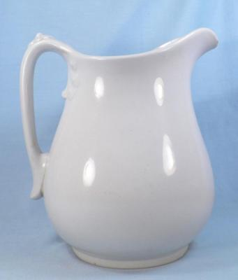 Johnson Brothers Ironstone Pitcher Antique Base Chips Oxidation As Is