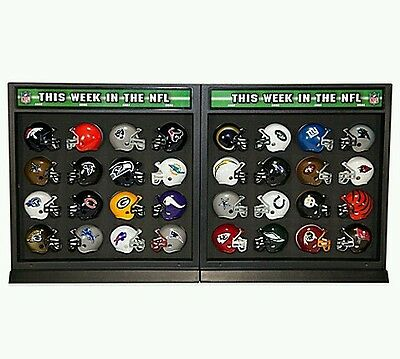Display casques NFL Riddell 2 faces