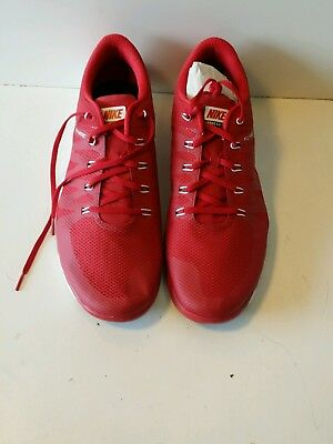 c9d9cc2aeab6 New Nike Free Trainer 5.0 V6 TB Red White Running Mens Shoes Size 16 723987