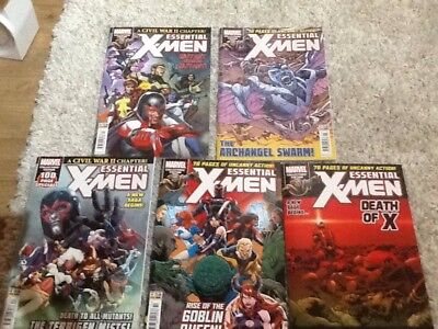 Essential X-Men Issues 11-15 Marvel UK current issues