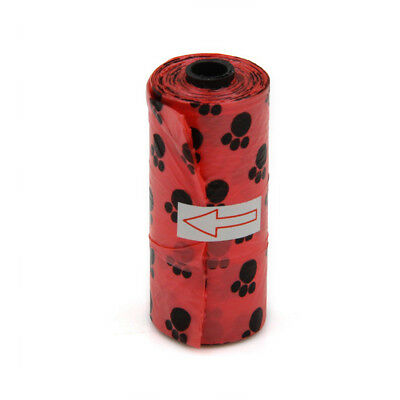 1pc Garbage Bags Cute Puppy Dog Pet Plastic Clean-up Duty Rubbish Waste Go Out