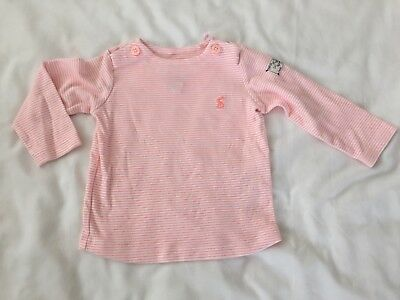 Joules Long Sleeve Top, Girls 9-12months