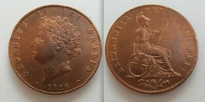 Collectable 1826 King George IV Half-Penny