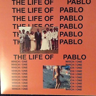 "Kanye West "" The Life Of Pablo  "" New Lp ** Coloured Vinyl ** Rare **"